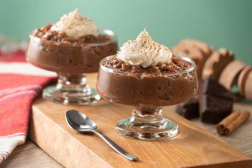 Orez cu lapte și ciocolată amăruie. Foto: kiwilimon.com
